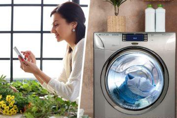 Descubrí las ventajas de manejar tu lavarropas desde tu celular